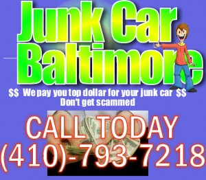 Best price for junk cars in Baltimore